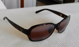 Maui Jim Koki Beach Sunglasses Tortoise Frames / Polarized Maui Rose Len... - $91.04