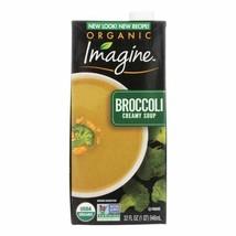 Imagine Foods Broccoli Soup - Creamy - Case Of 12 - 32 Oz. - $81.97