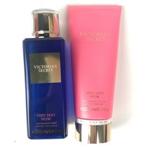 Victorias Secret Very Sexy Now Fragrance Mist & Lotion Full Size —discon... - $30.80
