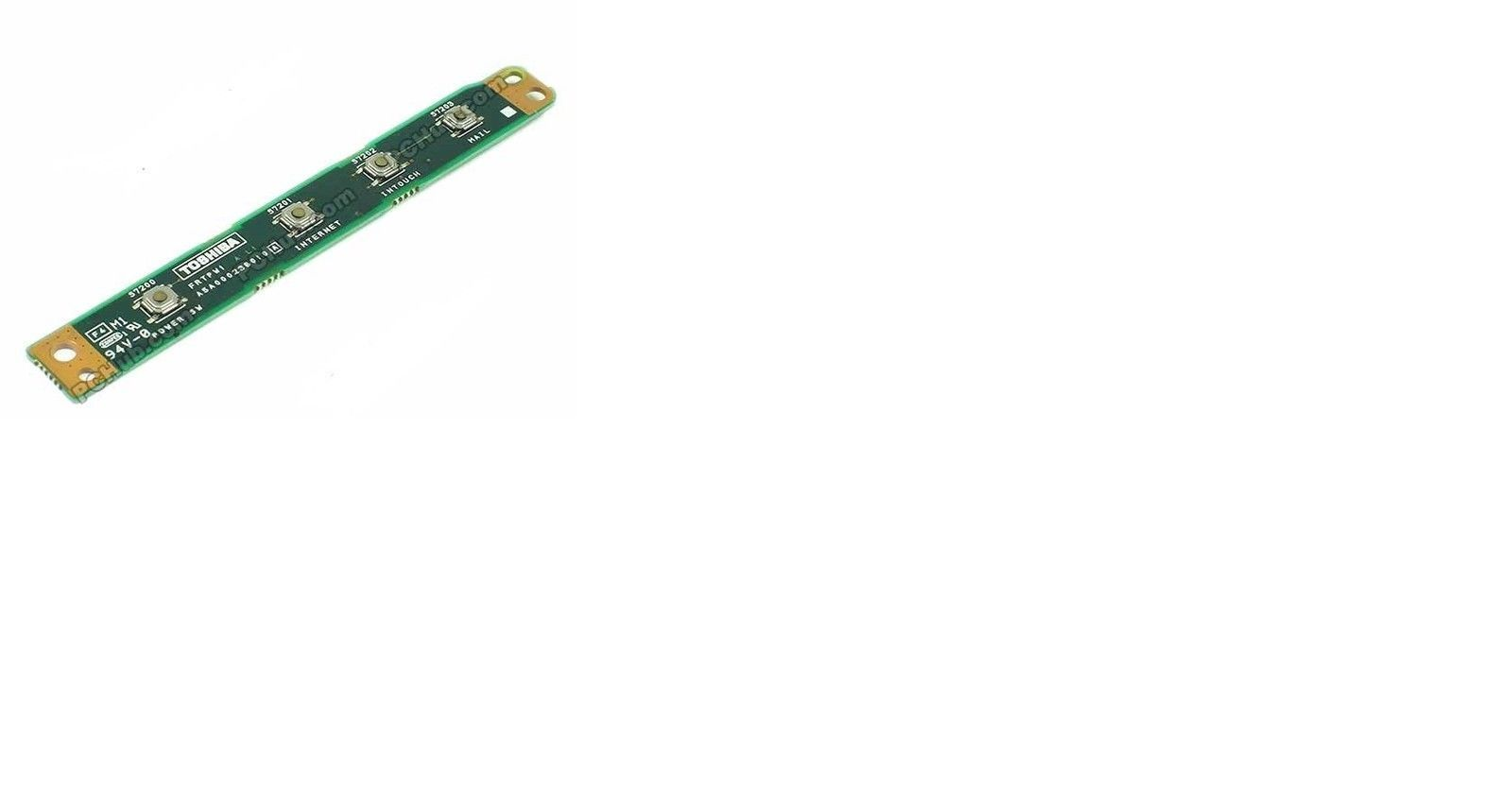 OEM TOSHIBA 1415-S173 POWER BUTTON BOARD FRTPW1 A5A000236010 LAPTOP