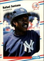 1988 Fleer Update #50 Rafael Santana NM-MT Yankees - $0.90