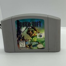 Dark Rift (Nintendo 64 1997 N64) Authentic Cleaned & Tested! Great Condi... - $9.89