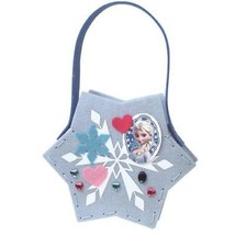 Disney Frozen felt Elsa's Snow tote Bag Handmade set kit anna Japan FS  - $46.53