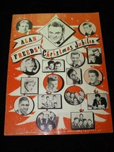 Alan Freed's Christmas Jubilee Program Everly Brothers Chuck Berry Frank... - $66.99