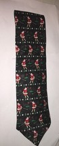 Hallmark Holiday Traditions Mens Santa Claus Golfing Tie New with tags  6d - $3.33