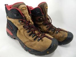"Keen Pittsburgh 6"" Size: 13 M (D) EU 47 Men's WP Steel Toe Work Boots 1007024"