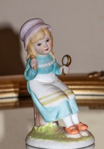 New England SMALL WONDERS FIGURINE COLLECTION SOCIETY 1983 Dressing Up F... - $16.69