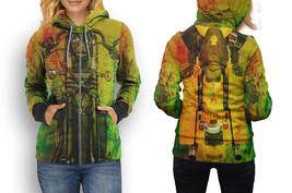 hoodie women zipper Biker Style New - $48.99+