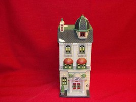 "DEPT 56 CHRISTMAS IN THE CITY ""RITZ HOTEL"" MINT IN BOX RETIRED #59730- - $28.41"