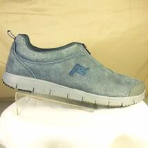 Propet Womens Walker Blue / Gray Suede Zip Front Diabetic Shoes Size 8 M... - $24.99