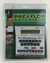 Pre Flop Advantage Texas Hold Em Game Odds Calculator VSL Innovations 20... - $15.99