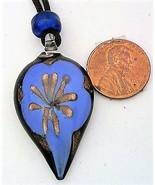 Fused Glass Flower Pendant - $6.00
