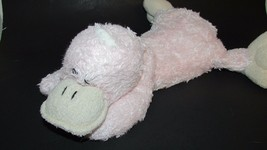 Animal Adventure 2010 Pink Plush duck platypus lying down WELL LOVED USED - $16.03