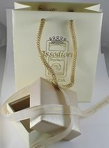 18K GOLD FIGARO CHAIN 2 MM WIDTH 24 INCH LENGTH ALTERNATE NECKLACE MADE IN ITALY image 4