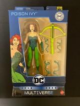 """DC Multiverse POISON IVY 6"""" Action Figure Comics Original 80th Anniversa... - £7.63 GBP"""