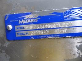 Metaris Hydraulic Pump MHP76A498BEYL2011 new image 2