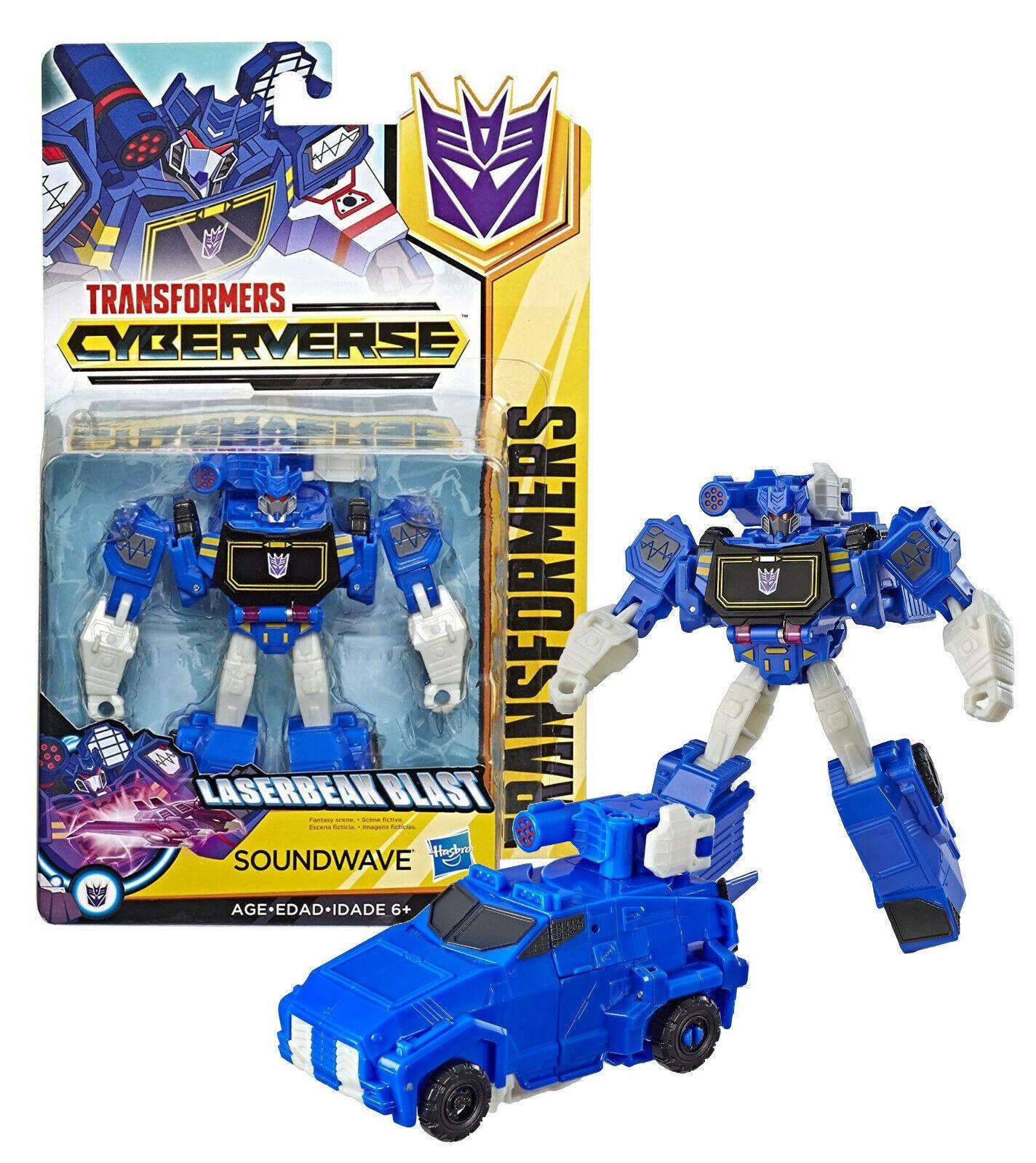 Transformers Cyberverse: Laserbeak Blast Soundwave Warrior Class New in Package - $19.88