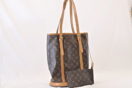 LOUIS VUITTON Monogram Bucket GM Shoulder Bag M42236 LV Auth sa1892 - $280.00