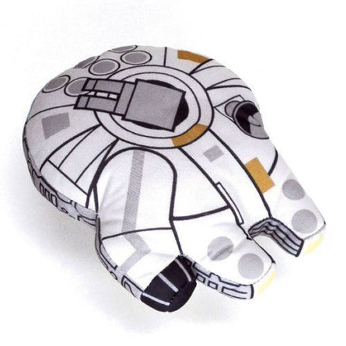 Comic Images Star Wars Millennium Falcon Super Deformed 8 Plush Vehicle 74197