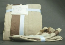 Pottery Barn Foundations Linen Silk Duvet Full - Queen with Standard Sham - $149.90