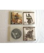 SONY PS3 Playstation 3 Call of Duty MW3 + Black ops II + Advanced Warfar... - $18.99
