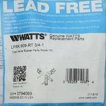Watts LFRK909 RT Total Valve Rubber Parts Repair Kit 0794069 image 2