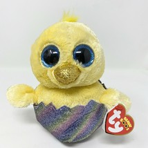 "Ty Beanie Boos - MEGG the Easter Chick in Egg 6"" (2019 Exclusive) NEW March - $9.59"