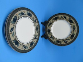 """Mikasa Arabella 11 1/8"""" Dinner Plates Set Of 3 Excellent Condition - $23.28"""