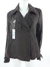 Diesel New Women's Boten Long Sleeve Jacket Size S Color Brown 45% Linen - $77.07