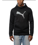 Puma Men's Striker Tec  Warmcell Black Pullover Hoodie - S - $37.61