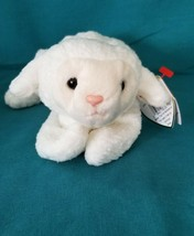 Rare Fleece TY Beanie Baby with Matching Tags - 1996 - Swing Tag New Out... - $7.66
