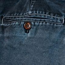 Chaps by Ralph Lauren Flat Front Faded Navy Blue Men's Cotton Shorts Size 36 image 4