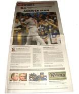 10.11.2011 St Louis POST-DISPATCH Newspaper Cardinals NLCS Game 2 Albert... - $14.99