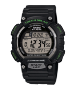 Casio STLS100H-1AV, Solar Watch, 5 Alarms, World Time, 2 Countdown Timer... - $30.64