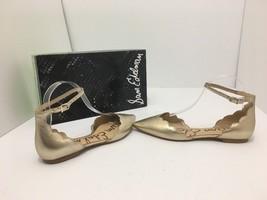 Sam Edelman Rowan Women's Flats Sandals Ankle Strap Molten Gold Leather ... - $47.31