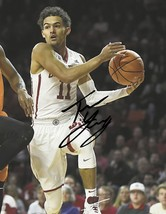 Trae Young Signed Photo 8X10 Rp Auto Autographed Oklahoma Sooners Basketball - $19.99