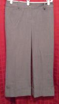 "Ann Taylor Loft gray ""Marisa"" cropped pants tag size 6 - $17.50"
