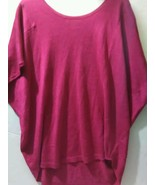 Coldwater Creek Spindrift Relax Pink woman's  size Large Blouse - $19.99