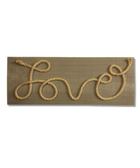 Country Style, Love, Handcrafted wooden sign - $25.00