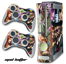 Skin Decal Wrap for Xbox 360 Original Gaming Console & Controller Xbox36... - $9.85