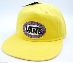 VANS CALIFORNIA NATIVE SNAPBACK FLATBILL  STYLE CAP/HAT - YELLOW  - OSFM - $17.09