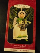 Snowdrop Angel Collector Series Hallmark Keepsake Christmas Ornament w/ ... - $14.95