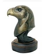 Silent Sentry Jacques Mary Regat Bronze Eagle Bust Signed LE $1995 Value... - $716.76
