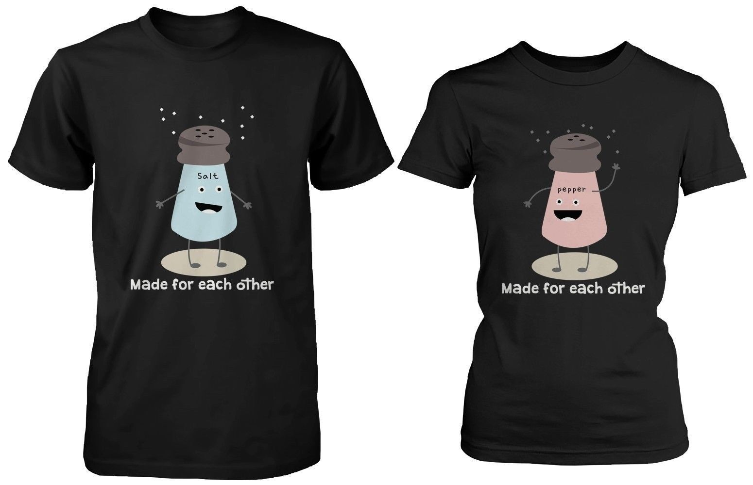 e63ce50488dfc Cute Couple Shirts - Salt   Pepper Made for and 50 similar items