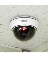 New Top Quality Fake Dummy Dome CCTV Security Camera Flashing LED Indoor... - $17.30