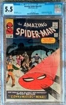 THE AMAZING SPIDER-MAN 22--- CGC 5.5 - $157.00