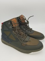 Polo Ralph Lauren Alpine 200 Mesh High Top Sneaker Military Green New No... - $74.97