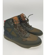 Polo Ralph Lauren Alpine 200 Mesh High Top Sneaker Military Green New No... - $74.97