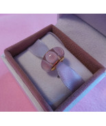 SALE! Mystic Murano Glass, Baby Pink, Yellow Gold Plate, Threaded Europe... - $19.99