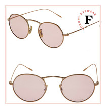 Oliver Peoples M-4 30th Round Sunglasses OV1220S Rose Gold Photochromic ... - $287.10